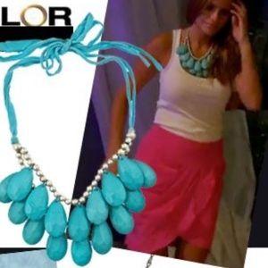 Mac & Chloe Blu Bijoux Turquoise Teardrop Necklace